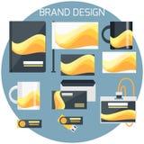 Brand Design Stock Photo