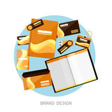 Brand Design Stock Image
