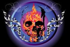 Brand en dood Stock Afbeeldingen