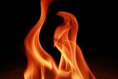 Brand en Vlam Royalty-vrije Stock Afbeeldingen