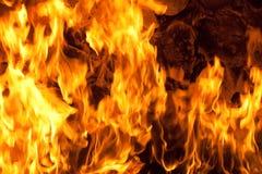 Brand en vlammen Royalty-vrije Stock Afbeelding