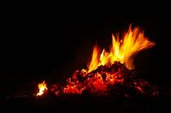 Brand en vlammen Stock Afbeeldingen