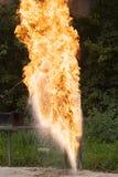 Brand en water Stock Afbeeldingen