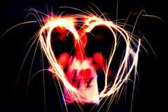 Brand, förälskelse och New York Royaltyfri Bild