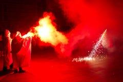 brand för ängeljäkeldrake Royaltyfri Foto