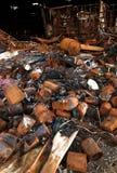 brand för förstörelse 08 royaltyfria bilder