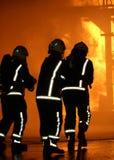Brand-figtersstridighetbrand Arkivbilder