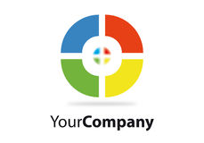 Brand. Generic brand for business communication Royalty Free Stock Photography