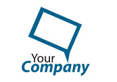 Brand. Generic brand for business communication Royalty Free Stock Images