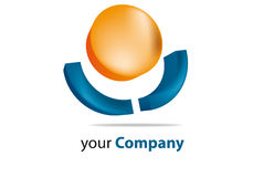 Brand. Generic brand for business communication Stock Image