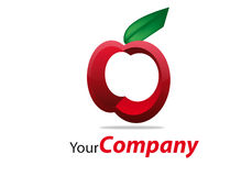 Brand. Generic brand for business communication apple Royalty Free Stock Image