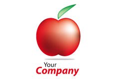 Brand. Generic brand for business communication apple Stock Photography