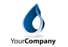 Brand. Generic brand for business communication water Stock Image