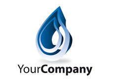 Brand. Generic brand for business communication water Royalty Free Stock Photography