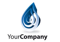 Brand. Generic brand for business communication water Royalty Free Stock Photos