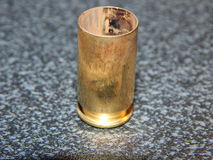 In brand gestoken shell omhulsel Royalty-vrije Stock Foto