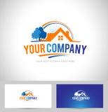 brand godset det fria logomeddelandet verkligt ditt sloganavstånd stock illustrationer