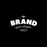 Brand Gold White Royalty Free Stock Photos