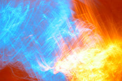 Brand hemel-11 Stock Afbeelding