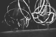 Brand het jongleren met Stock Afbeelding