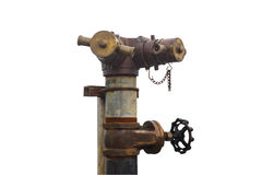 Brand Hidrant fotografering för bildbyråer