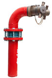 Brand Hidrant Stock Afbeelding