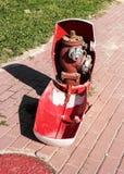 Brand Hidrant Stock Foto