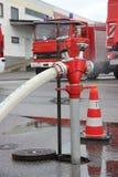 Brand Hidrant Royaltyfri Foto