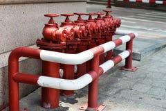 Brand Hidrant Arkivbilder