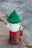 Brand Hidrant Stock Foto's