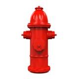 Brand Hidrant Stock Illustratie