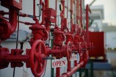 Brand Hidrant Royalty-vrije Stock Foto