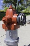 Brand Hidrant royaltyfria bilder