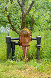 Brand Hidrant Hydrant dichte omhooggaand Hydrantclose-up Enige brand hyd Royalty-vrije Stock Afbeeldingen