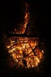 Brand i natur Royaltyfri Bild