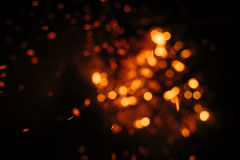 Brand i natur Royaltyfria Foton