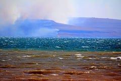 Brand i Republiken Sydafrika Arkivfoton