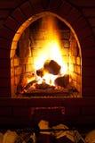 Brand i spis arkivfoto