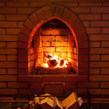 Brand i spis arkivfoton