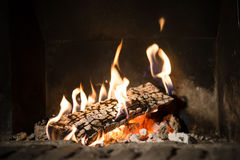Brand i spis fotografering för bildbyråer