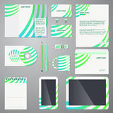 Brand identity com pant style template Royalty Free Stock Photography