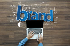 Brand identity ideas concept Stock Photo