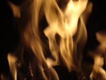 Brand in Kader Stock Afbeeldingen