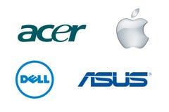 Brand laptops 1 Royalty Free Stock Image