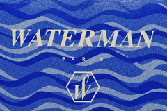 Brand and logo waterman Royalty Free Stock Photos
