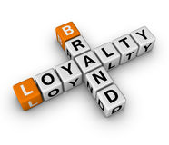 Brand and loyalty Stock Image