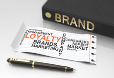 Brand loyalty Royalty Free Stock Photography