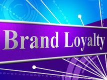 Brand Loyalty Shows Company Identity And Branded Stock Photos