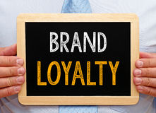 Brand loyalty sign Royalty Free Stock Photos