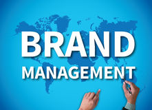 BRAND MANAGEMENT Stock Photography